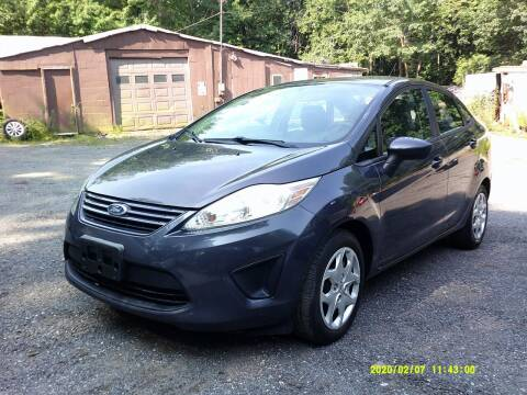 2012 Ford Fiesta for sale at Jack Mansur's Auto LLC in Pelham NH