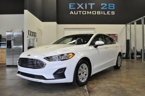 2019 Ford Fusion for sale at Exit 28 Auto Center LLC in Cornelius NC