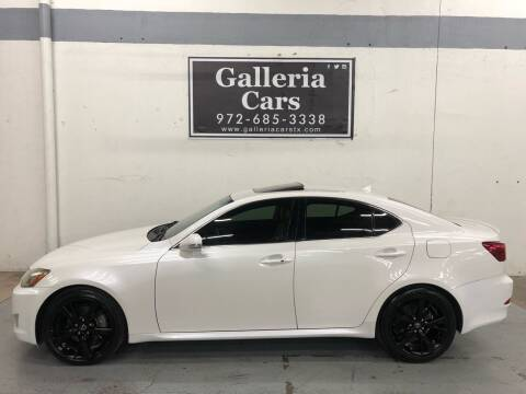 2010 Lexus IS 250 for sale at Galleria Cars in Dallas TX