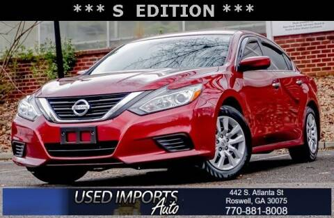 2018 Nissan Altima for sale at Used Imports Auto in Roswell GA