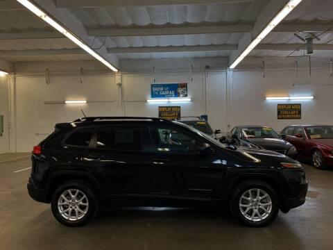 2016 Jeep Cherokee for sale at Cuellars Automotive in Sacramento CA