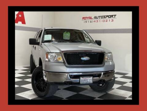 2008 Ford F-150 for sale at Royal AutoSport in Sacramento CA