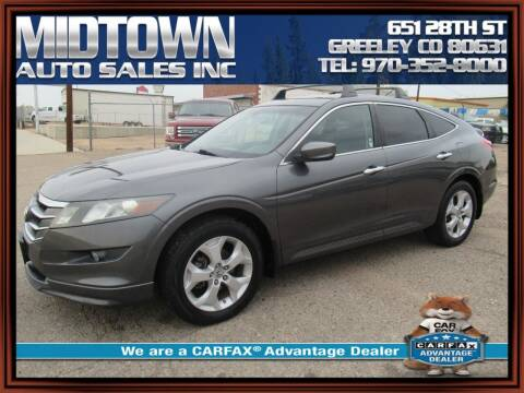 2011 Honda Accord Crosstour for sale at MIDTOWN AUTO SALES INC in Greeley CO