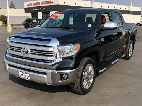 2014 Toyota Tundra for sale at Dow Lewis Motors in Yuba City CA