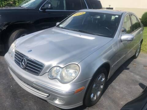 2005 Mercedes-Benz C-Class for sale at Maroun's Motors, Inc in Boardman OH