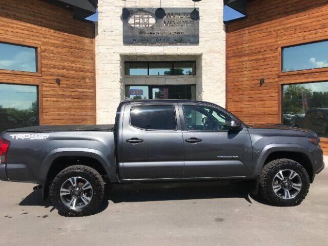 2017 Toyota Tacoma for sale at Hamilton Motors in Lehi UT