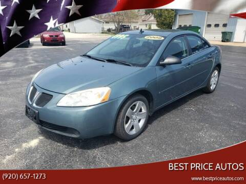 2009 Pontiac G6 for sale at Best Price Autos in Two Rivers WI