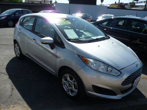 2016 Ford Fiesta for sale at CENTURY MOTORS - Fresno in Fresno CA