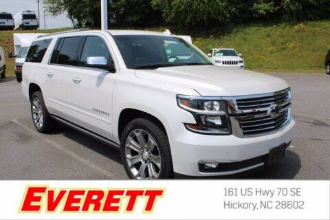 2017 Chevrolet Suburban for sale at Everett Chevrolet Buick GMC in Hickory NC