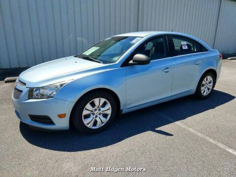 2012 Chevrolet Cruze for sale at Matt Hagen Motors in Newport NC