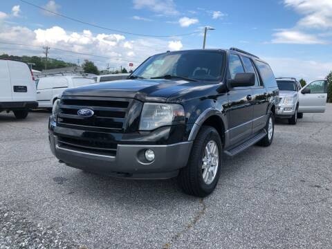 2011 Ford Expedition EL for sale at Hillside Motors Inc. in Hickory NC