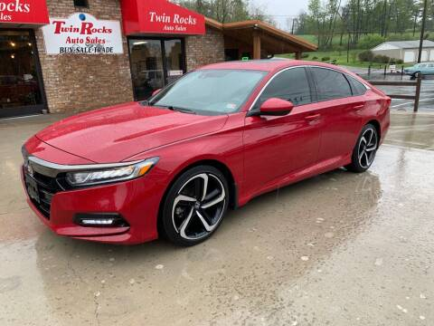 2019 Honda Accord for sale at Twin Rocks Auto Sales LLC in Uniontown PA