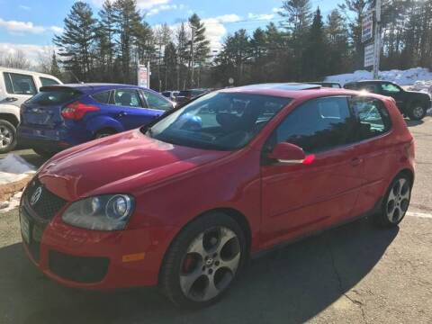 2006 Volkswagen GTI for sale at Mascoma Auto INC in Canaan NH