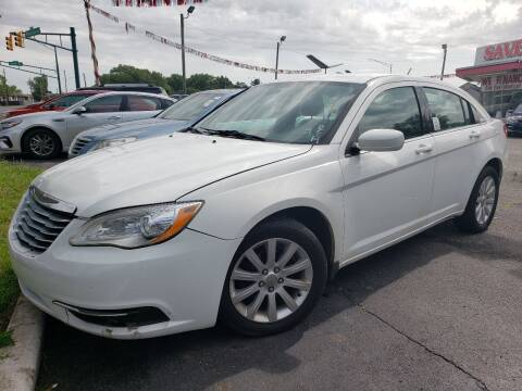 2013 Chrysler 200 for sale at Right Place Auto Sales in Indianapolis IN