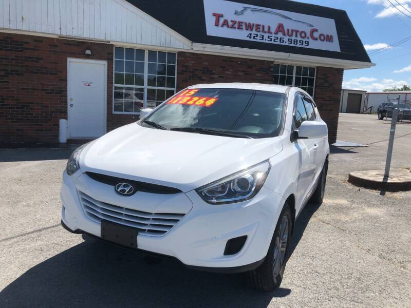 2015 Hyundai Tucson for sale at HarrogateAuto.com - tazewell auto.com in Tazewell TN