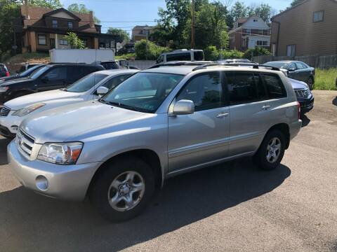 2007 Toyota Highlander for sale at Fellini Auto Sales & Service LLC in Pittsburgh PA