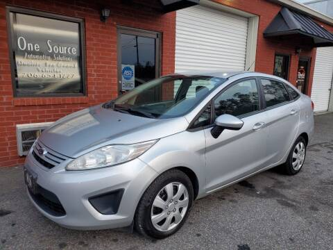 2012 Ford Fiesta for sale at One Source Automotive Solutions in Braselton GA