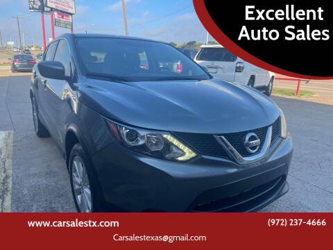 2018 Nissan Rogue Sport for sale at Excellent Auto Sales in Grand Prairie TX