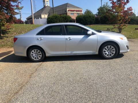 2014 Toyota Camry for sale at Bill Henderson Auto Group Inc in Statesville NC