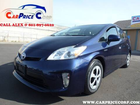 2014 Toyota Prius for sale at CarPrice Corp in Murray UT