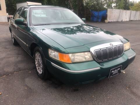 2001 Mercury Grand Marquis for sale at PARK AVENUE AUTOS in Collingswood NJ