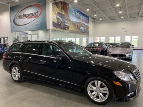 2011 Mercedes-Benz E-Class for sale at Godspeed Motors in Charlotte NC