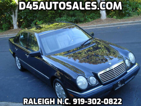 1997 Mercedes-Benz E-Class for sale at D45 Auto Brokers in Raleigh NC
