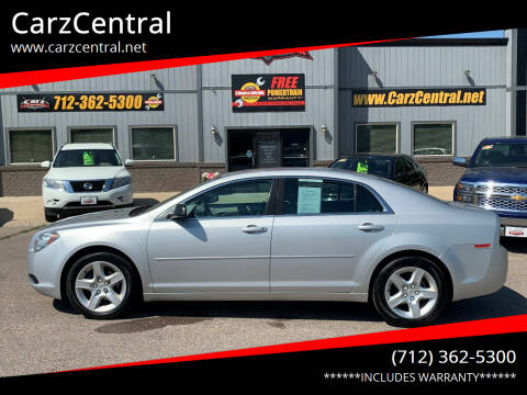 2012 Chevrolet Malibu for sale at CarzCentral in Estherville IA
