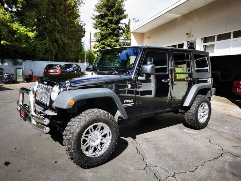 2013 Jeep Wrangler Unlimited for sale at Legacy Auto Sales LLC in Seattle WA