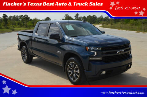 2021 Chevrolet Silverado 1500 for sale at Fincher's Texas Best Auto & Truck Sales in Tomball TX