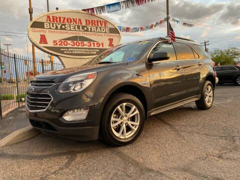 2017 Chevrolet Equinox for sale at Arizona Drive LLC in Tucson AZ