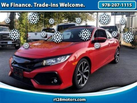 2018 Honda Civic for sale at RT28 Motors in North Reading MA