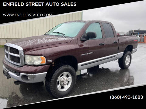 2004 Dodge Ram Pickup 2500 for sale at ENFIELD STREET AUTO SALES in Enfield CT