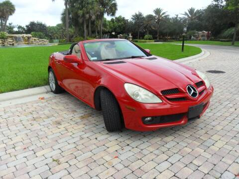 2009 Mercedes-Benz SLK for sale at AUTO HOUSE FLORIDA in Pompano Beach FL