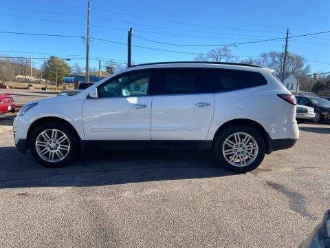 2015 Chevrolet Traverse for sale at RIVERSIDE AUTO SALES in Sioux City IA