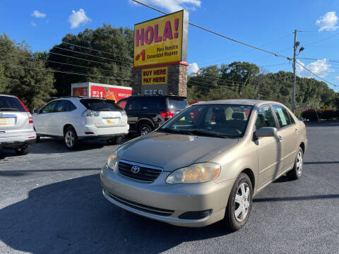 2006 Toyota Corolla for sale at No Full Coverage Auto Sales in Austell GA