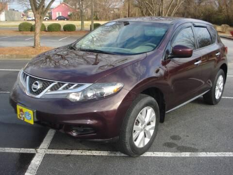 2013 Nissan Murano for sale at Uniworld Auto Sales LLC. in Greensboro NC