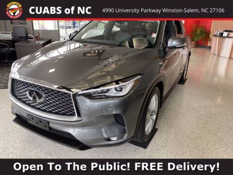 2019 Infiniti QX50 for sale at Credit Union Auto Buying Service in Winston Salem NC