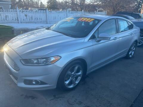 2013 Ford Fusion for sale at Excel Auto Sales LLC in Kawkawlin MI