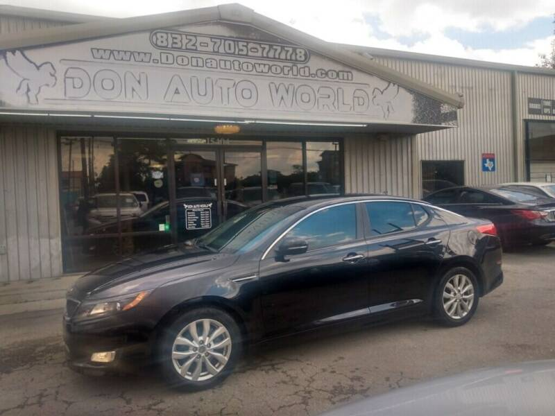 2015 Kia Optima for sale at Don Auto World in Houston TX