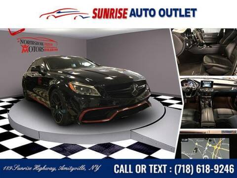 2017 Mercedes-Benz CLS for sale at Sunrise Auto Outlet in Amityville NY