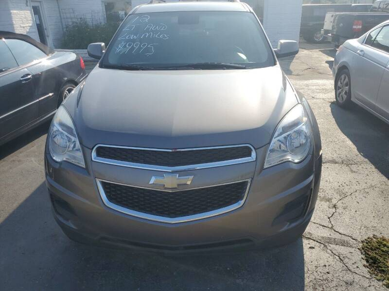 2012 Chevrolet Equinox for sale at All State Auto Sales, INC in Kentwood MI