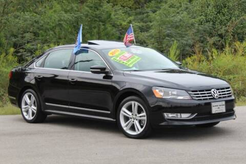 2013 Volkswagen Passat for sale at McMinn Motors Inc in Athens TN