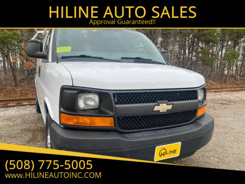 2014 Chevrolet Express Cargo for sale at HILINE AUTO SALES in Hyannis MA