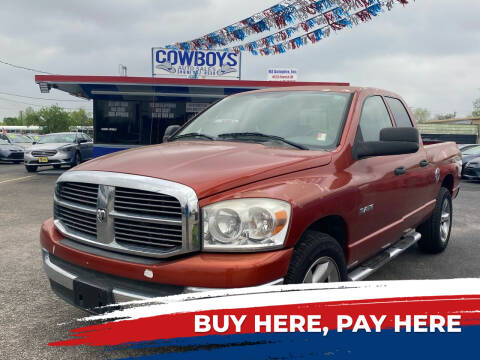 2008 Dodge Ram Pickup 1500 for sale at Cow Boys Auto Sales LLC in Garland TX