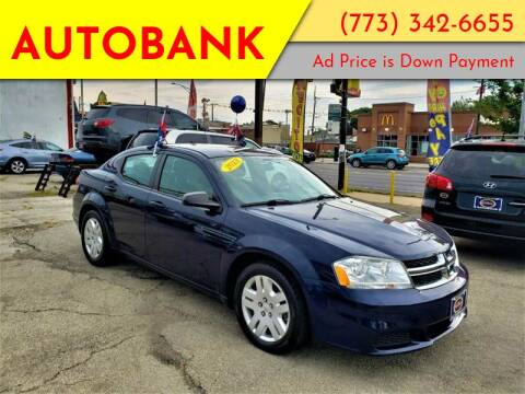 2013 Dodge Avenger for sale at AutoBank in Chicago IL