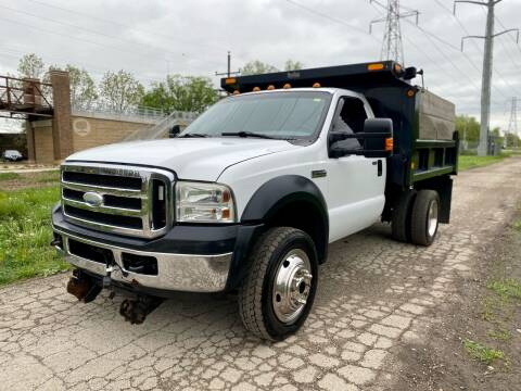 2006 Ford F-550 Super Duty for sale at Siglers Auto Center in Skokie IL