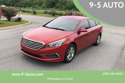 2017 Hyundai Sonata for sale at 9-5 AUTO in Topeka KS