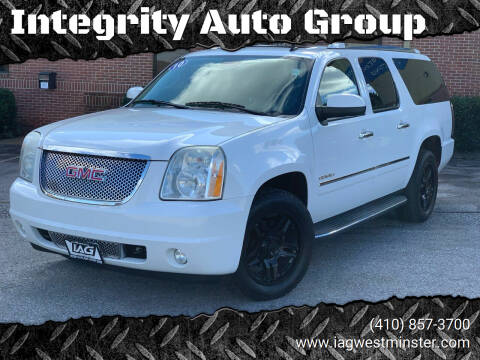 2010 GMC Yukon XL for sale at Integrity Auto Group in Westminister MD