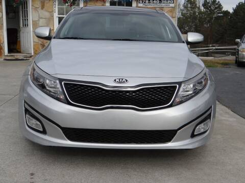 2015 Kia Optima for sale at Flywheel Auto Sales Inc in Woodstock GA